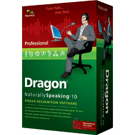Dragon NaturallySpeaking® v10